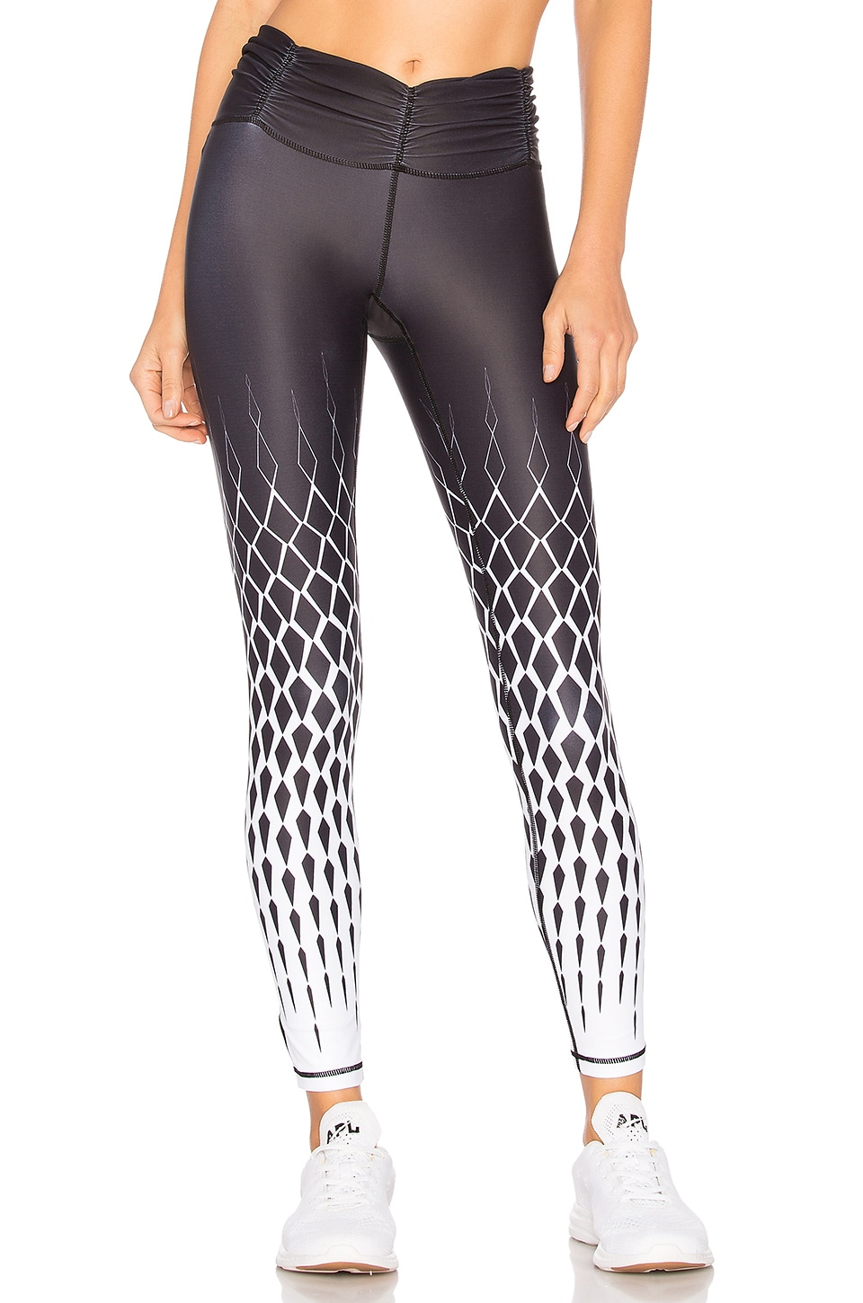 Chill By Will Bliss Legging In Black Geo Revolve Pants