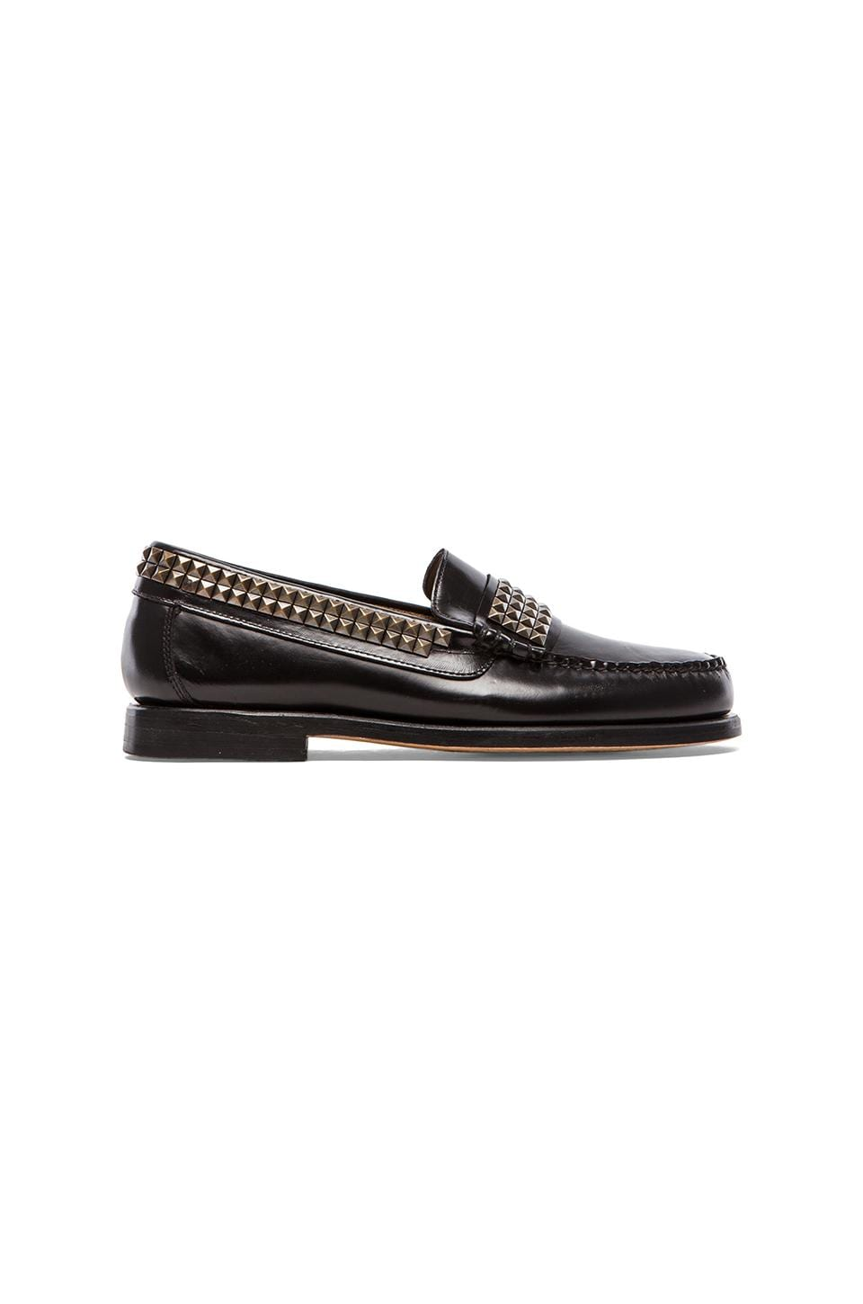 Caminando Studs Loafer in Black