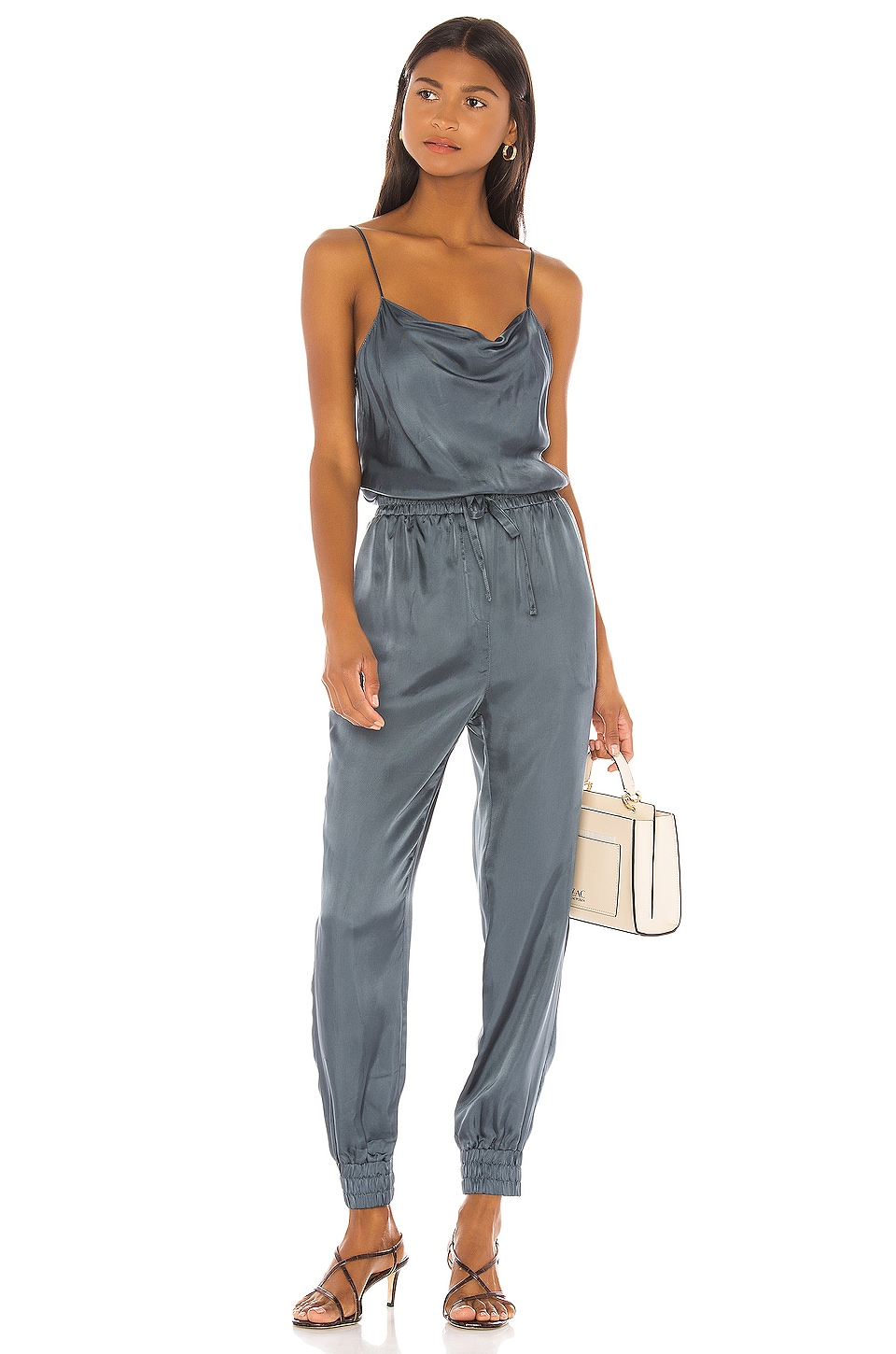 Cinq a Sept Finnley Jumpsuit in Onyx