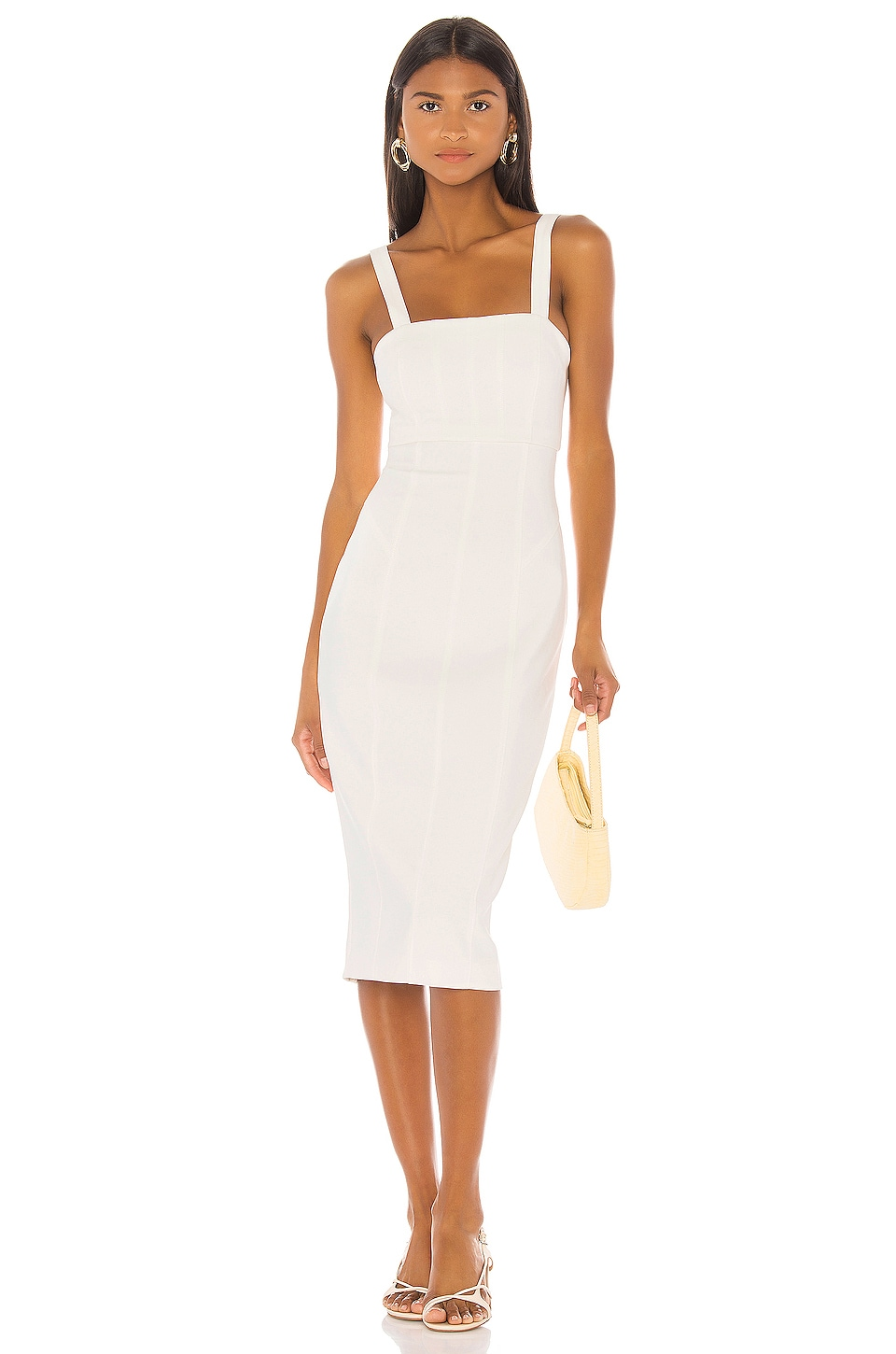 Cinq a Sept Dakota Dress in Ivory