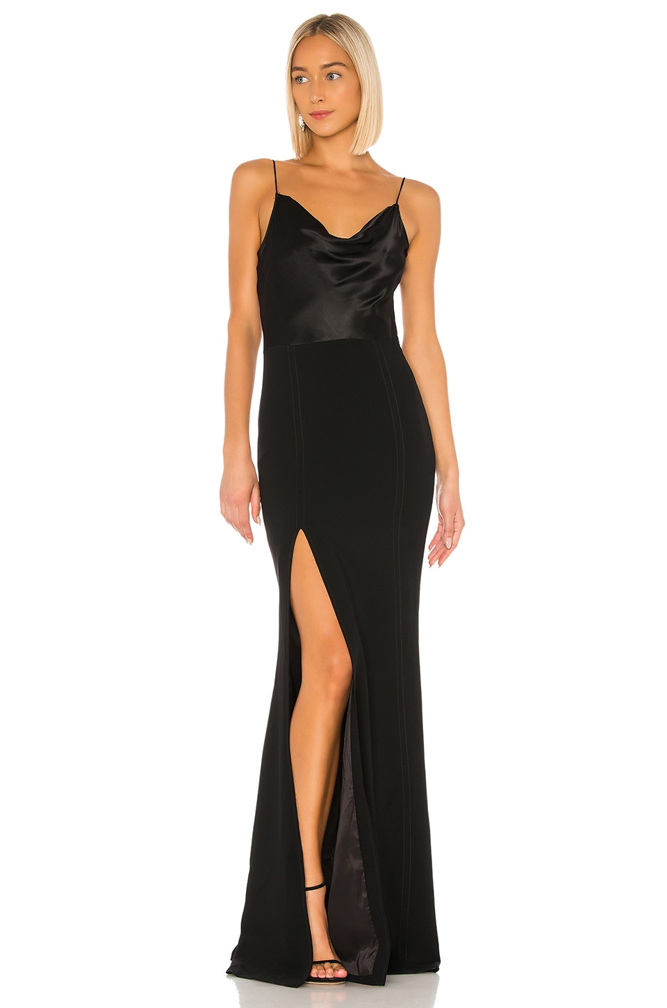 Cinq a Sept Ana Gown in Black