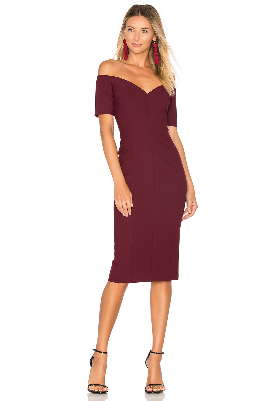 e7d5add53d1 Cinq a Sept Birch Dress in Mulberry | REVOLVE