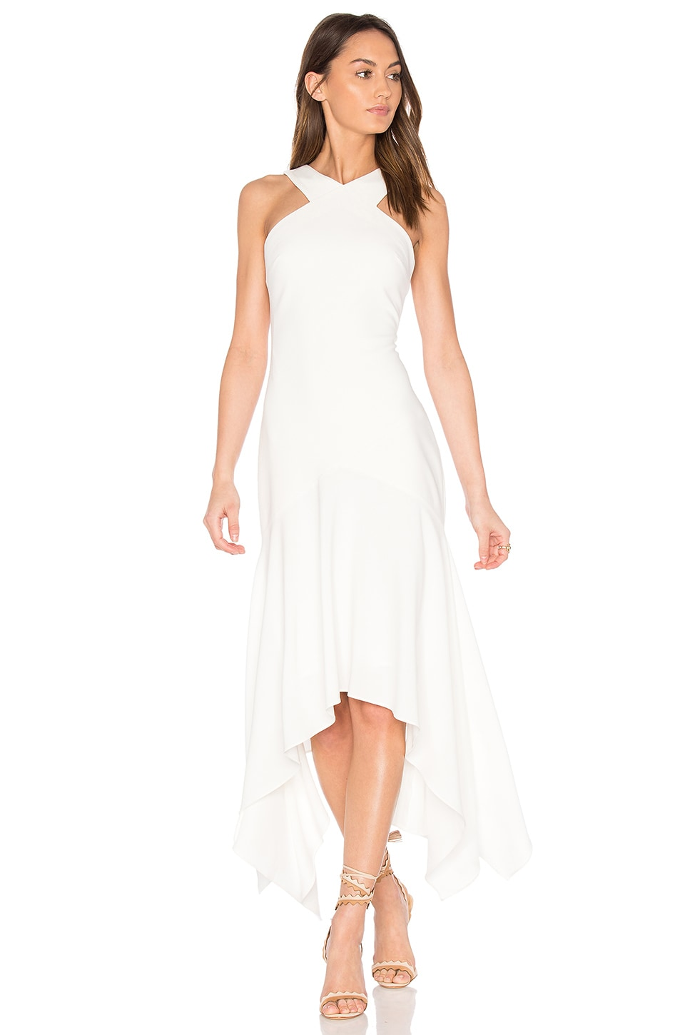 Cinq a Sept Bryony Gown in Ivory