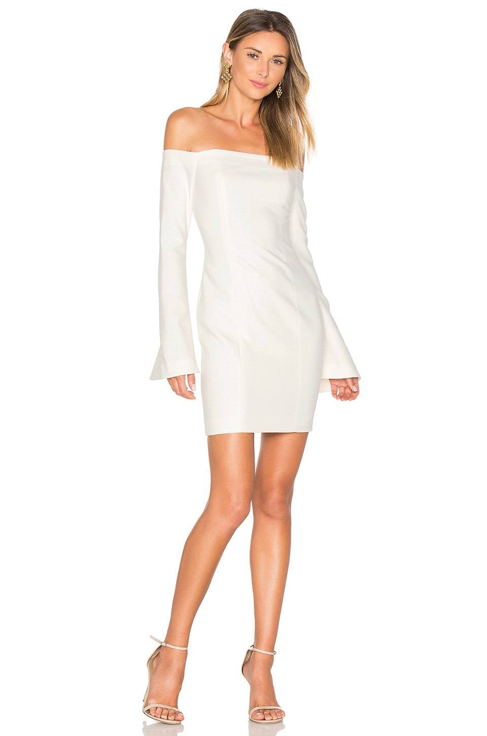 Cinq a Sept Niara Dress in Ivory