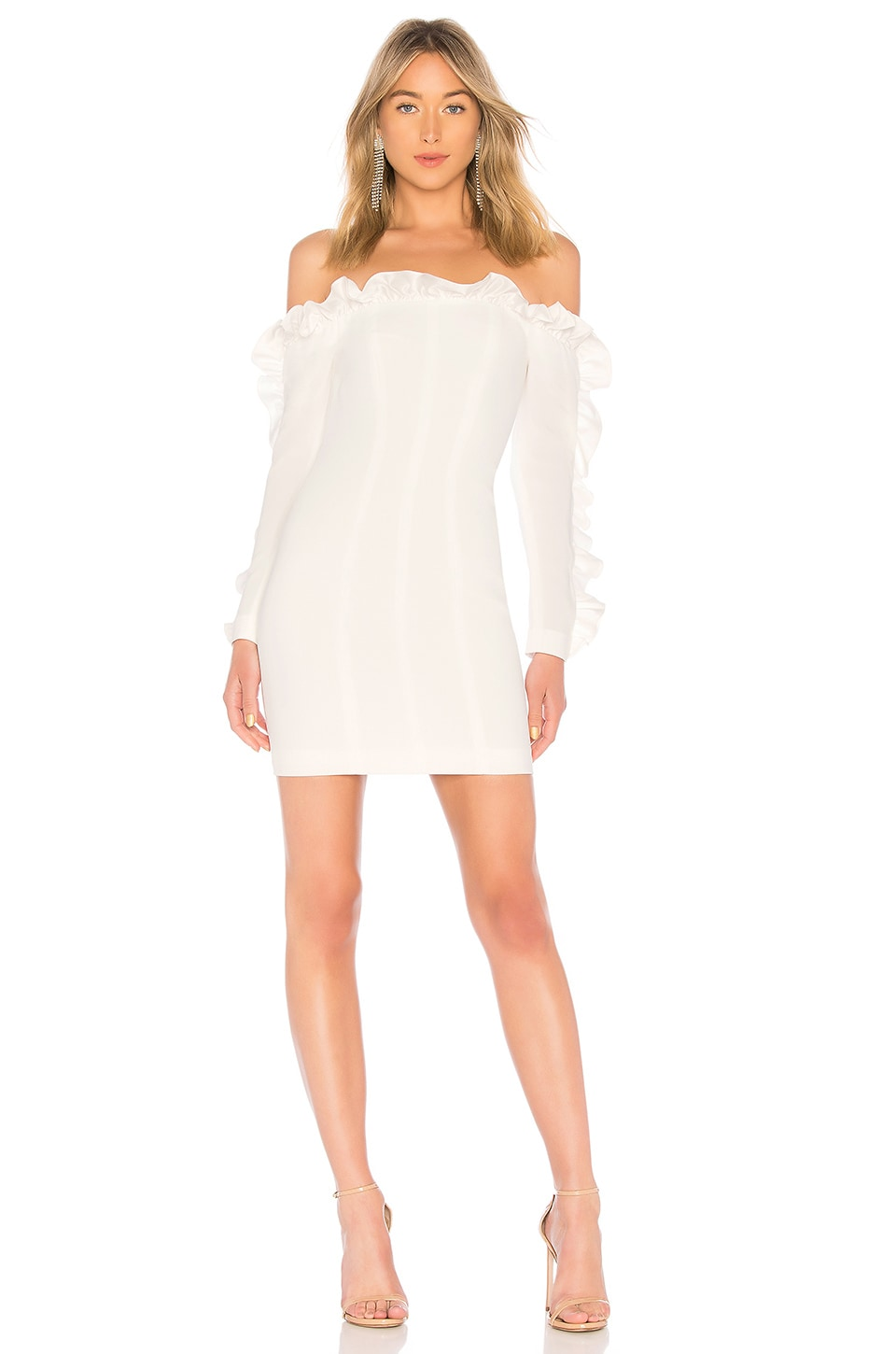 Cinq a Sept Rosemarie Dress in Ivory