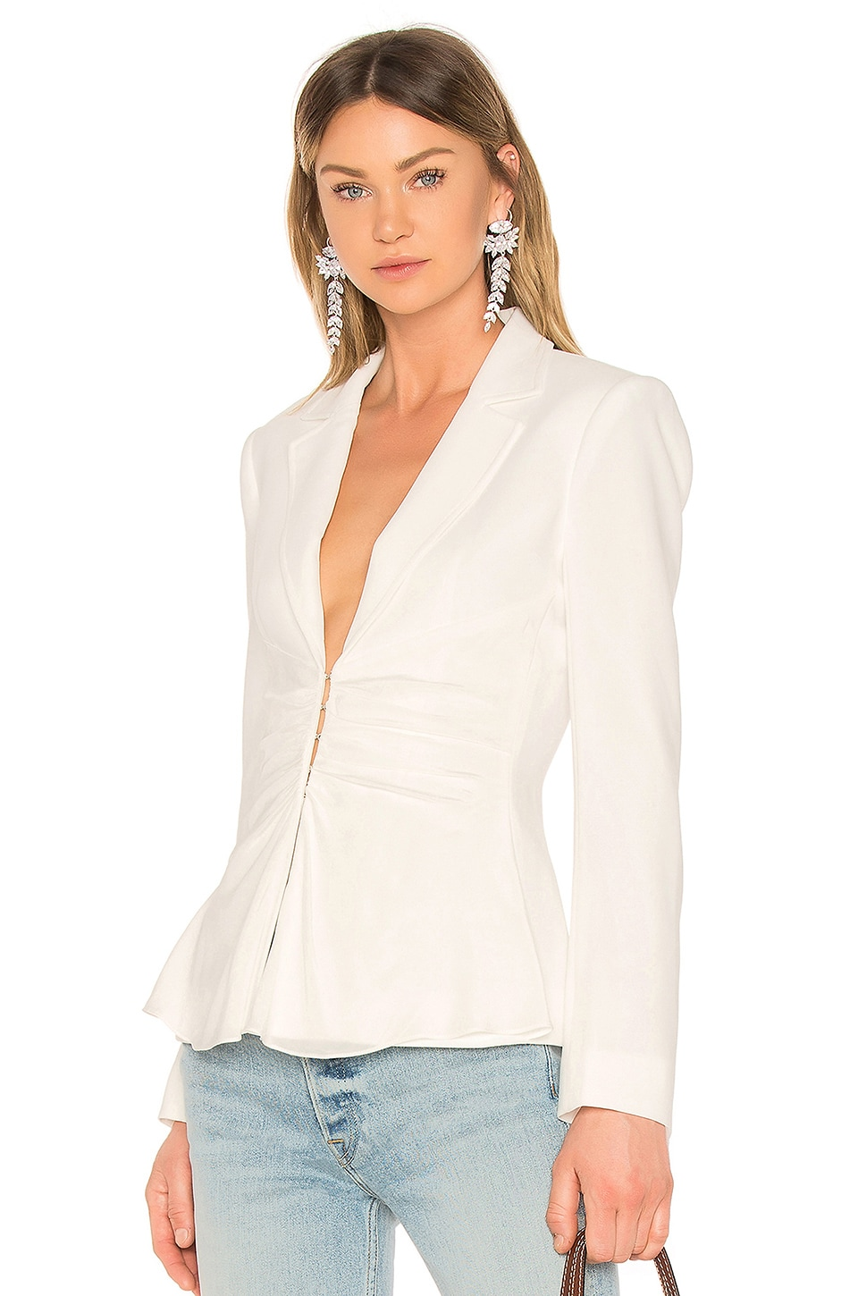 Cinq a Sept Nuri Jacket in Ivory