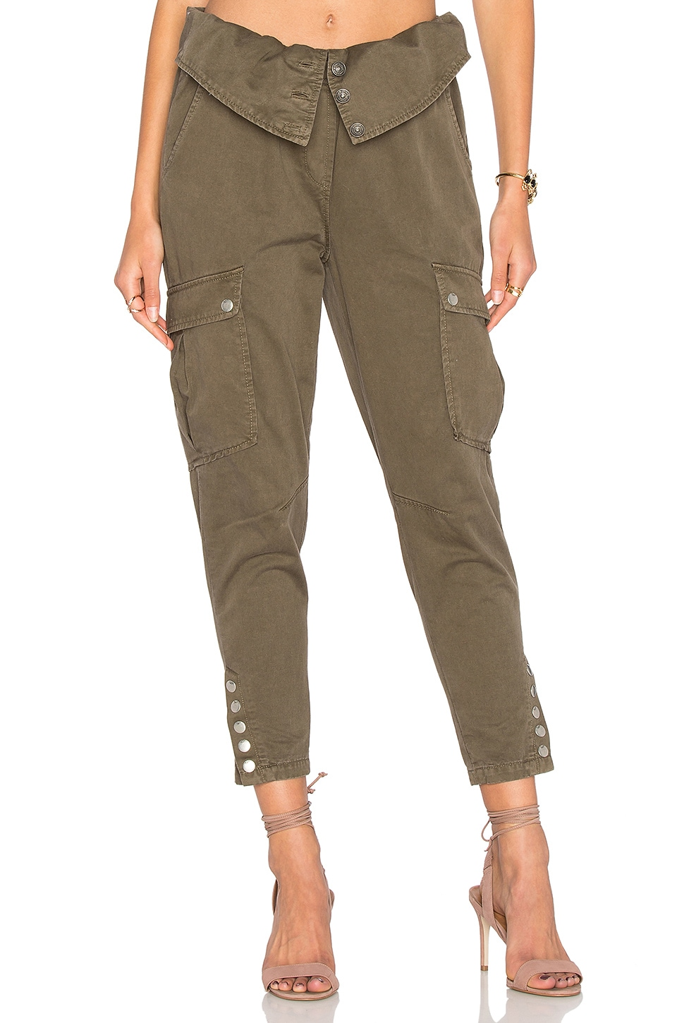 Cinq a Sept Noah Cargo Pant in Olive
