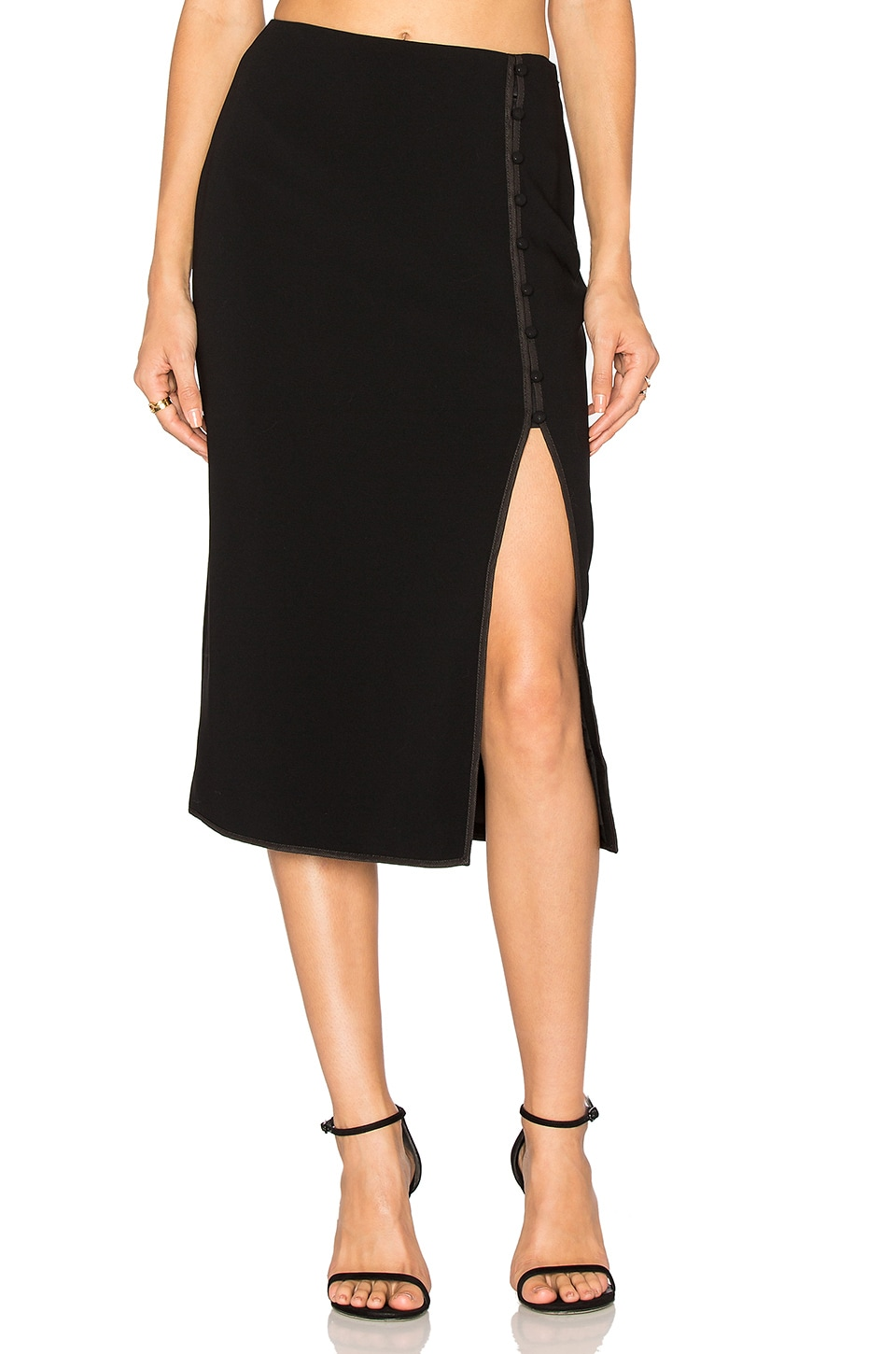 Cinq a Sept Farrow Skirt in Black