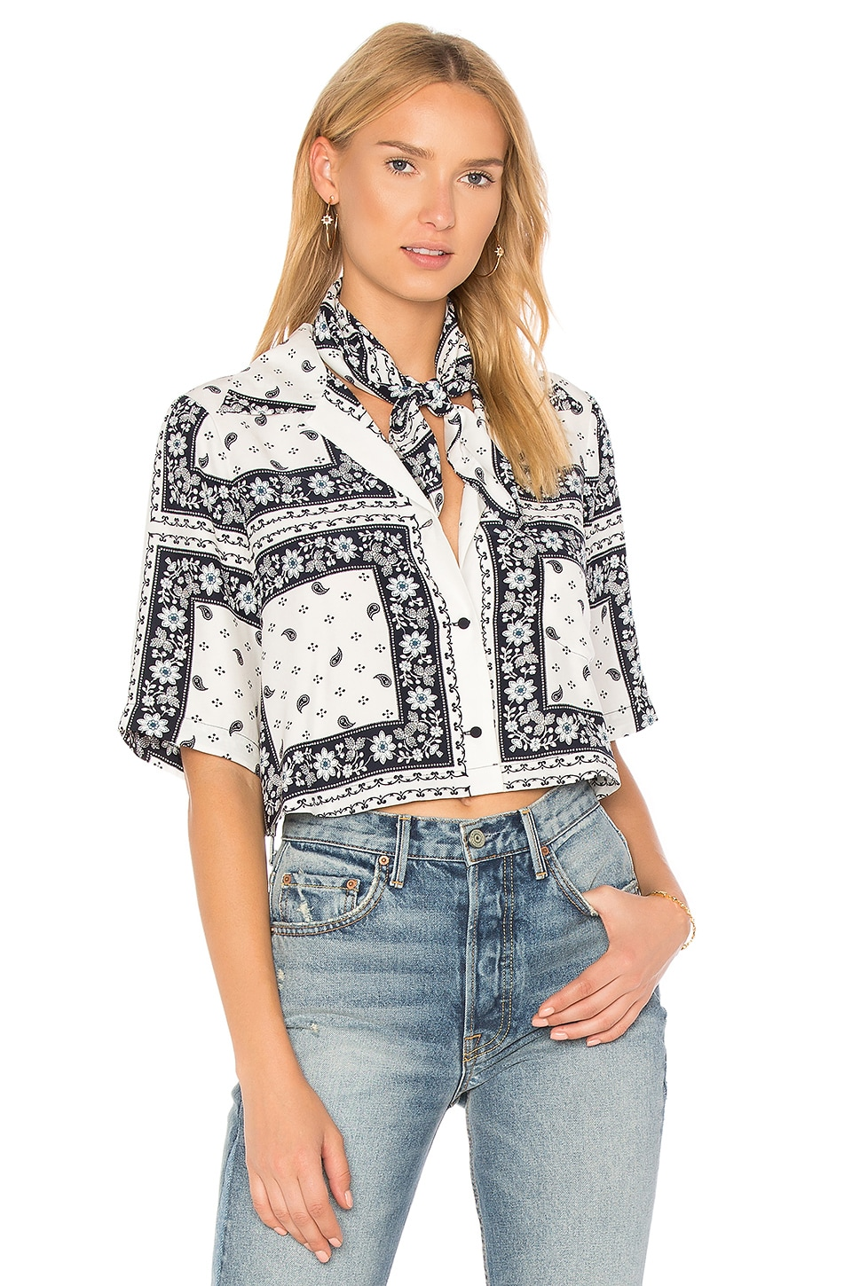 Cropped Dani Top by Cinq A Sept