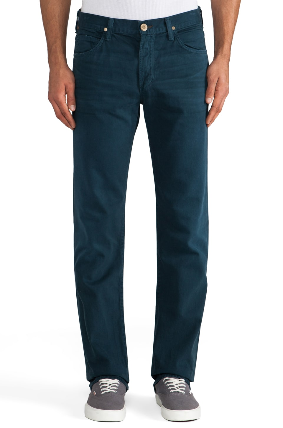 Citizens of Humanity Sid Straight Pant in Catalina Blue