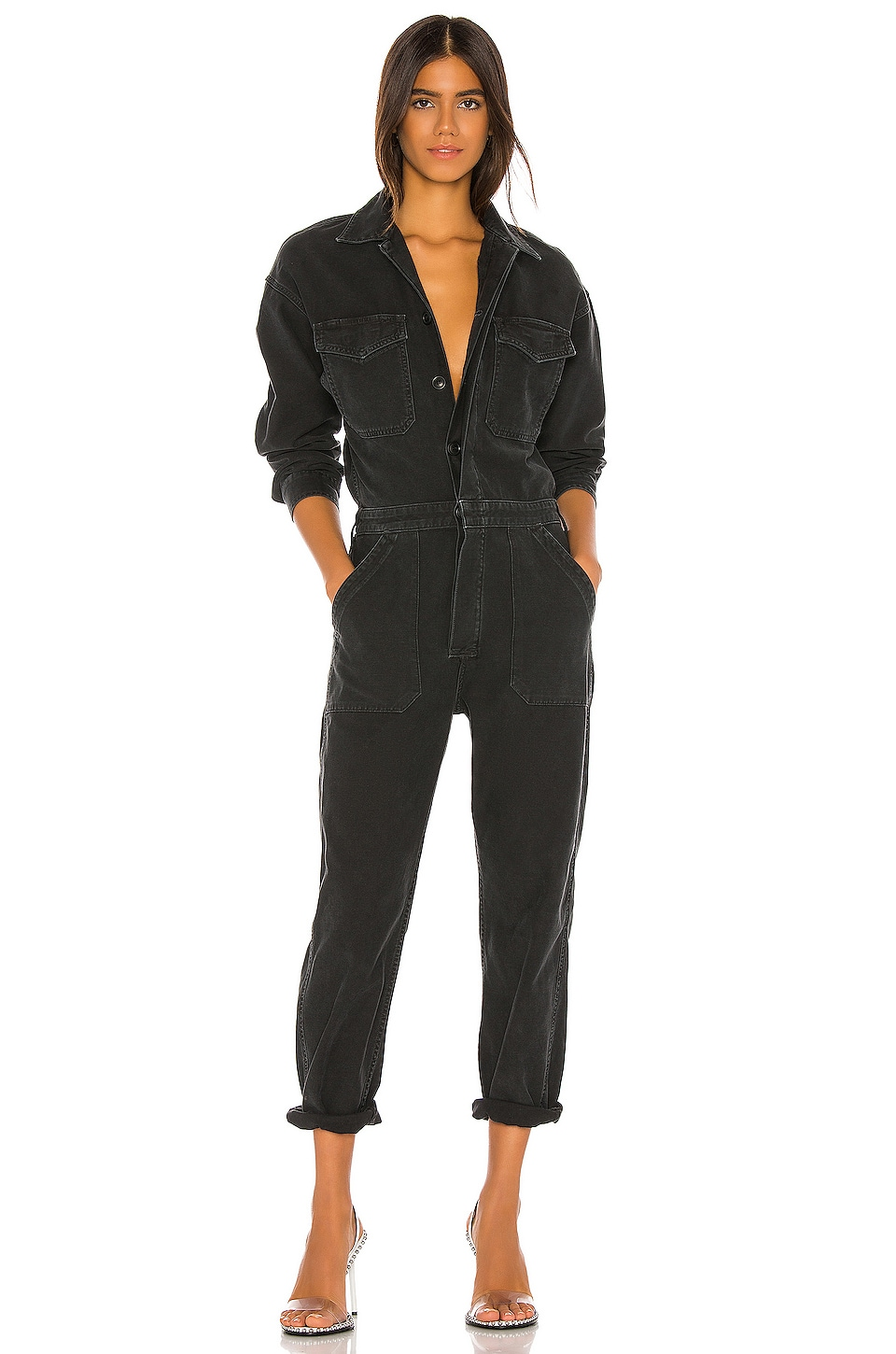Citizens of Humanity JUMPSUIT MANGA LARGA MARTA