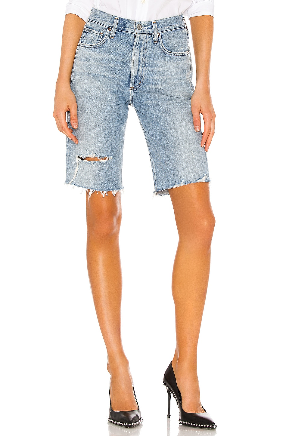 Citizens of Humanity Libby Relaxed Short in Seventeen