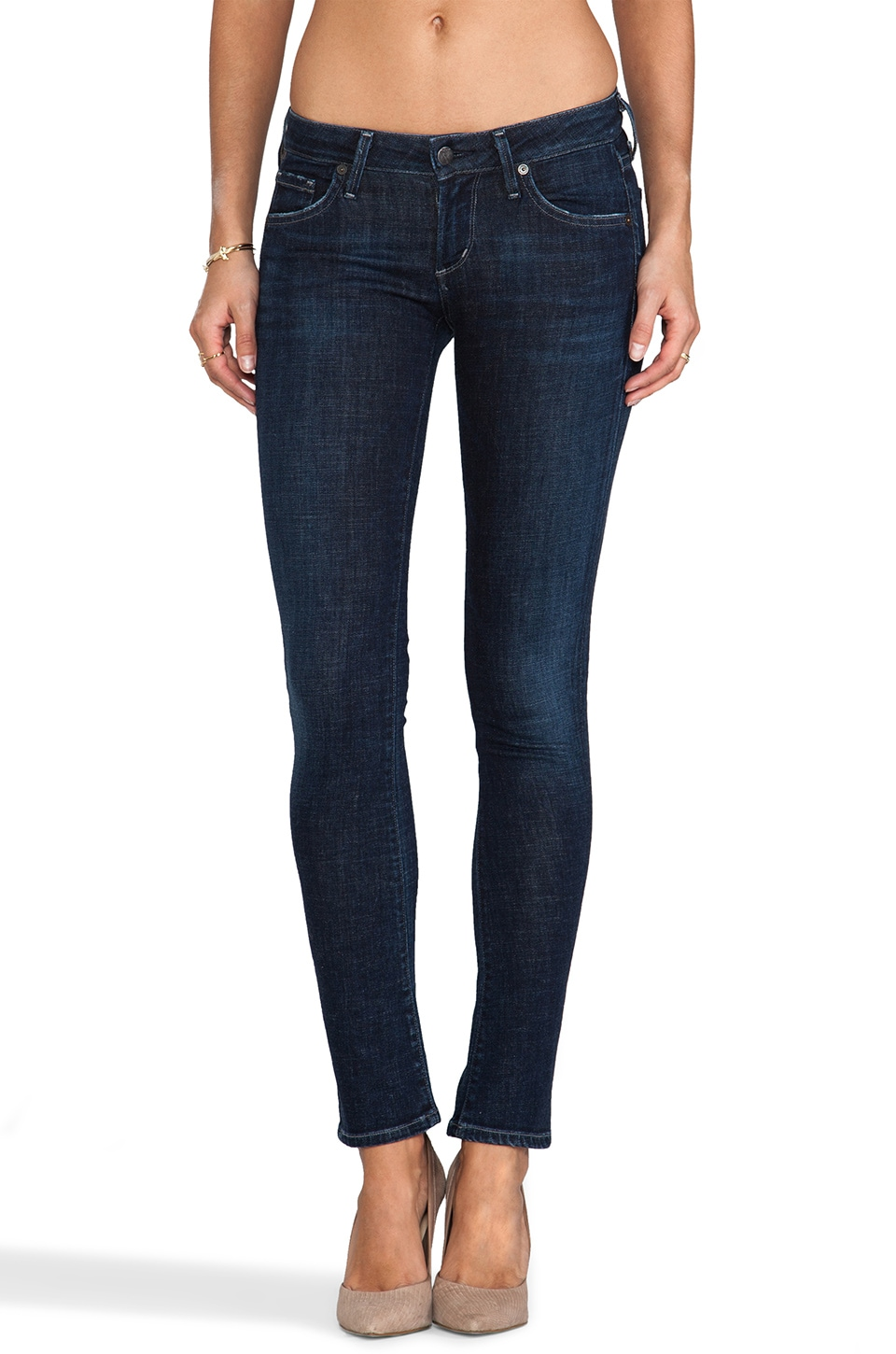 Citizens of Humanity Racer Low Rise Skinny in Solstice