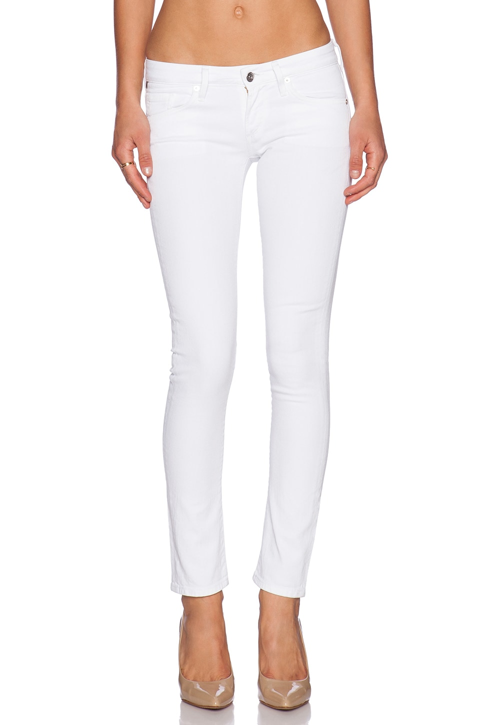 Citizens of Humanity Racer Low Rise Skinny in Santorini