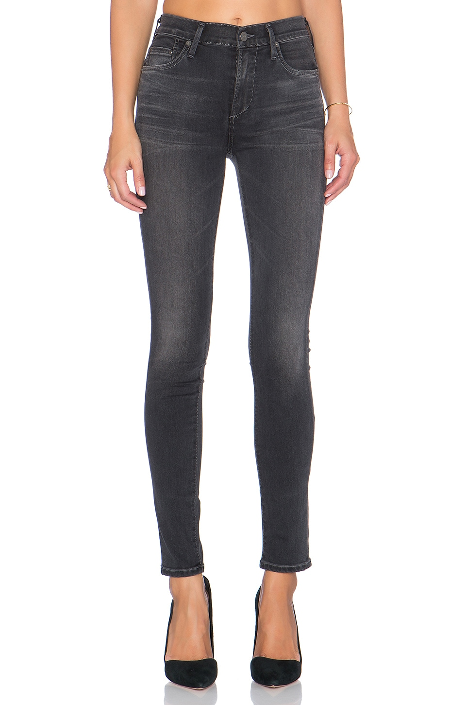 Rocket Mid Rise Skinny at Revolve Clothing