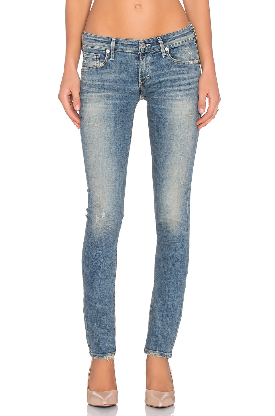 Citizens of Humanity SCULPT Racer Low Rise Skinny in Miramar