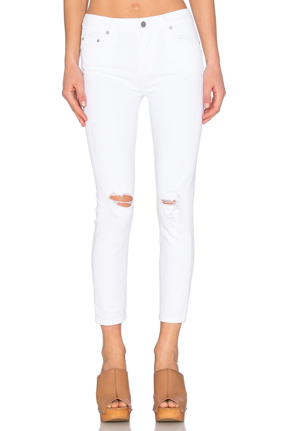 Rocket High Rise Crop Skinny at Revolve Clothing