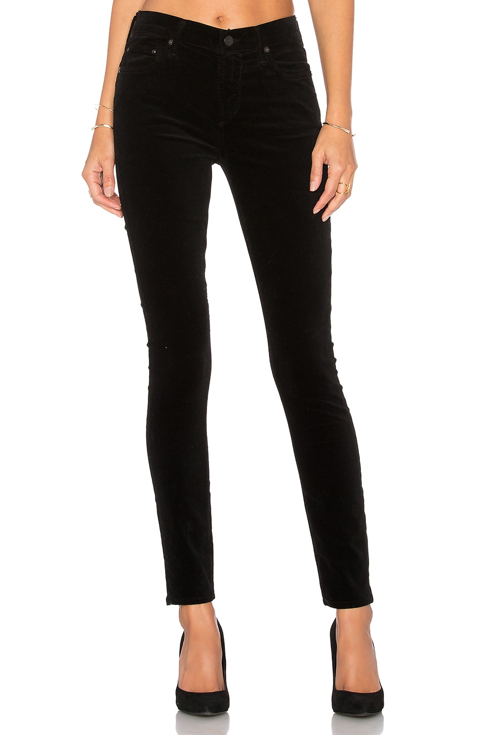 Citizens of Humanity Rocket High Rise Skinny in Black