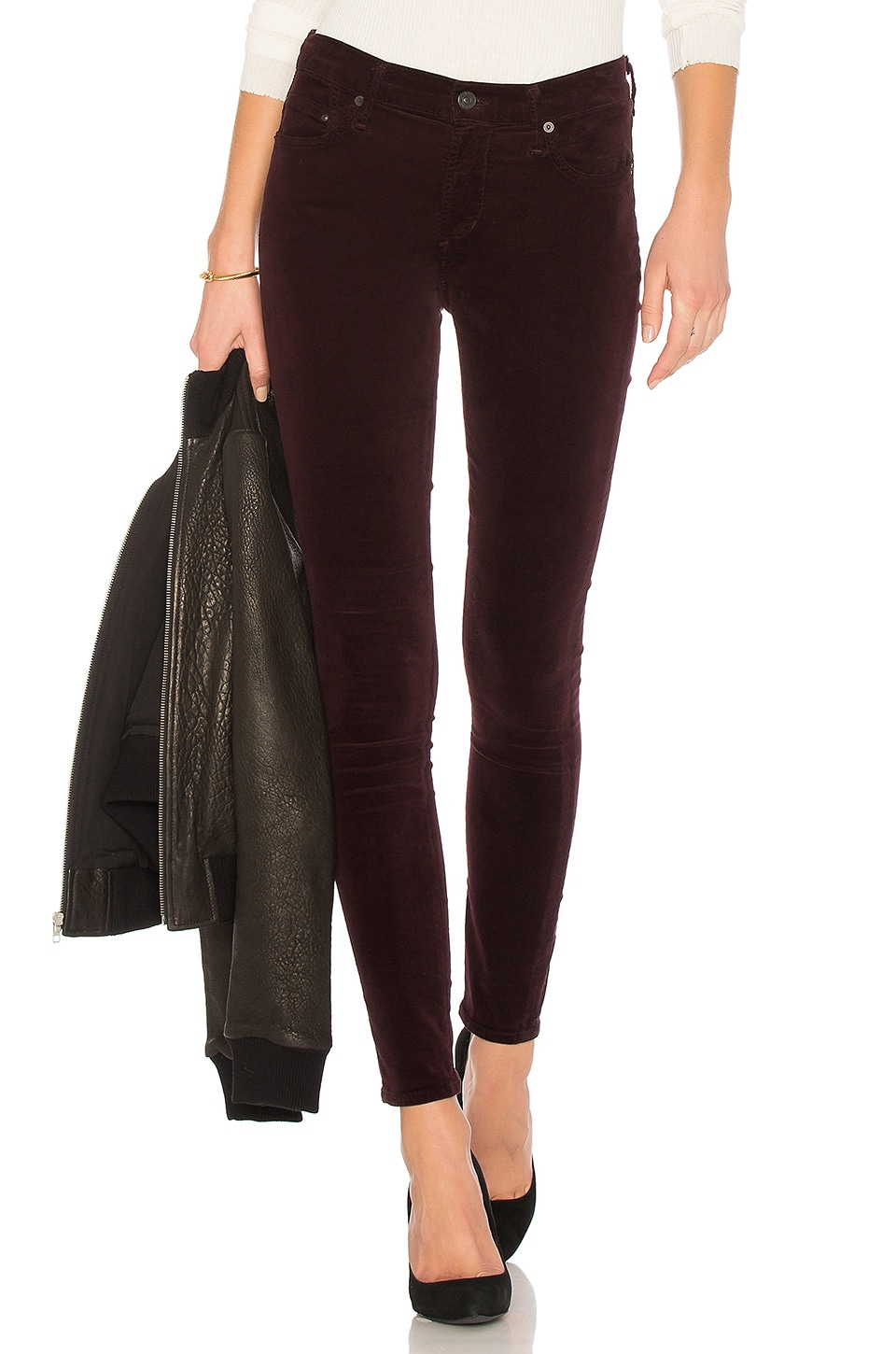Citizens of Humanity Rocket Skinny in Black Currant