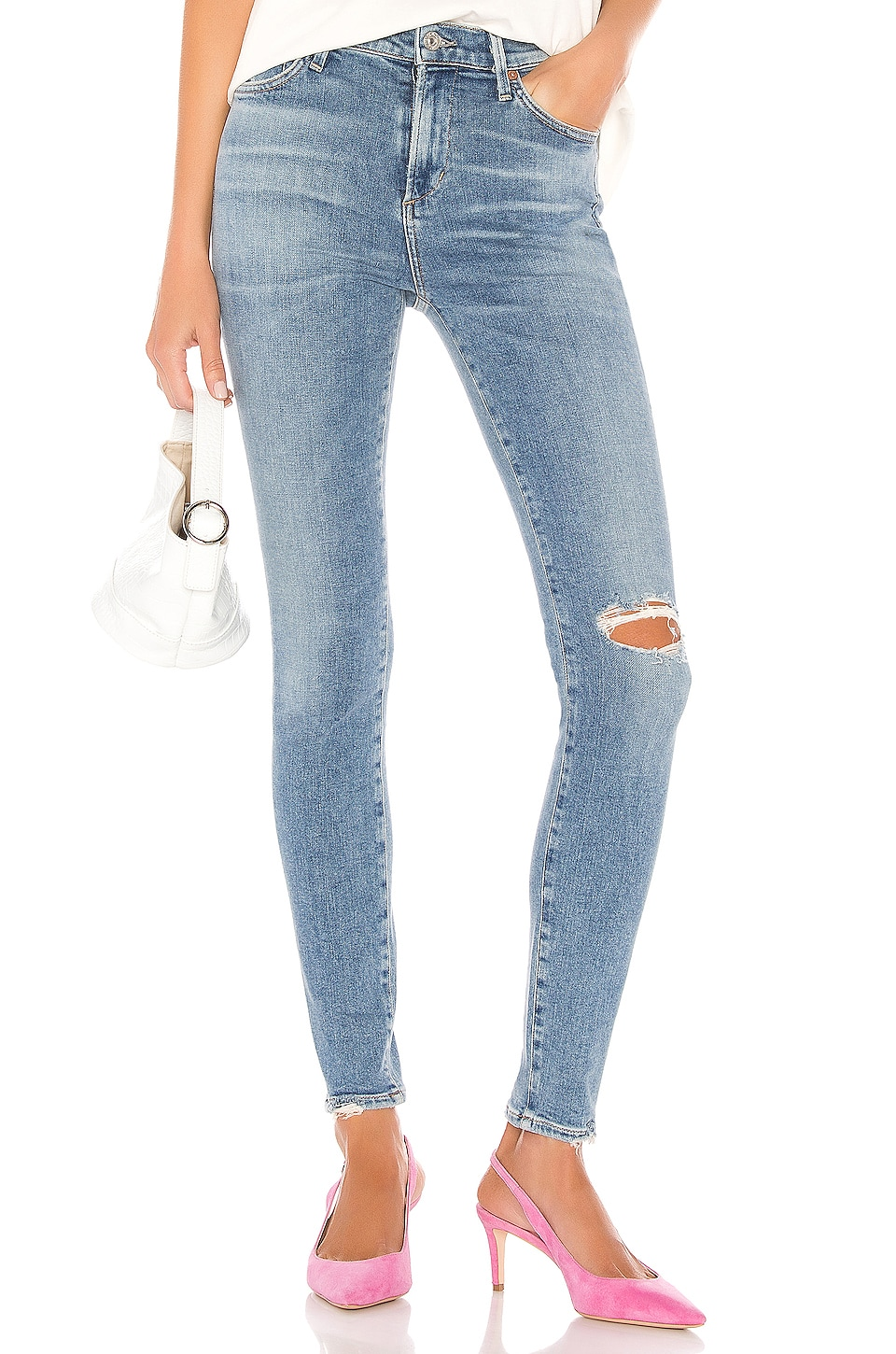 Citizens of Humanity Rocket Mid Rise Skinny in Keeper
