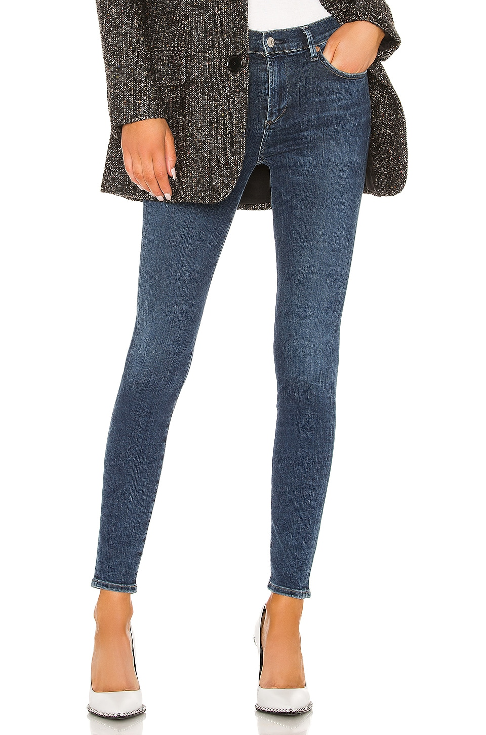 Citizens of Humanity Rocket Mid Rise Skinny in Alto