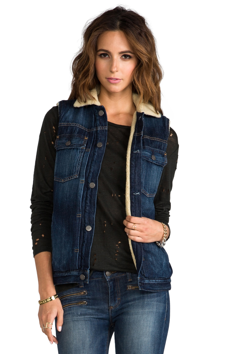 Citizens of Humanity Laustan Vest in Aspen