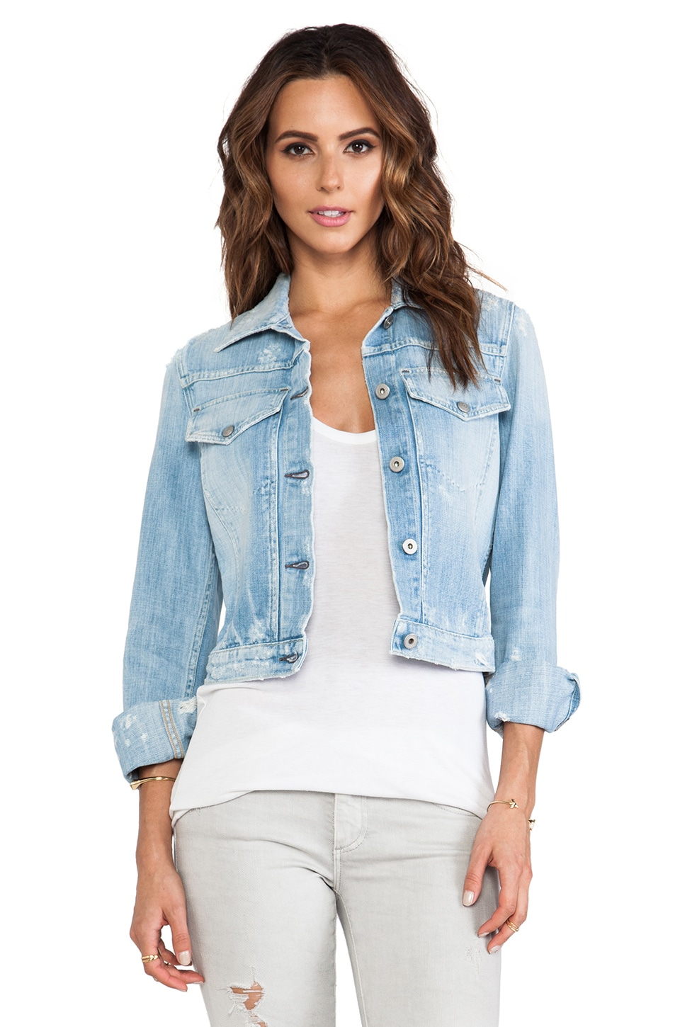 Citizens of Humanity Borderline Jacket in Summer Fling