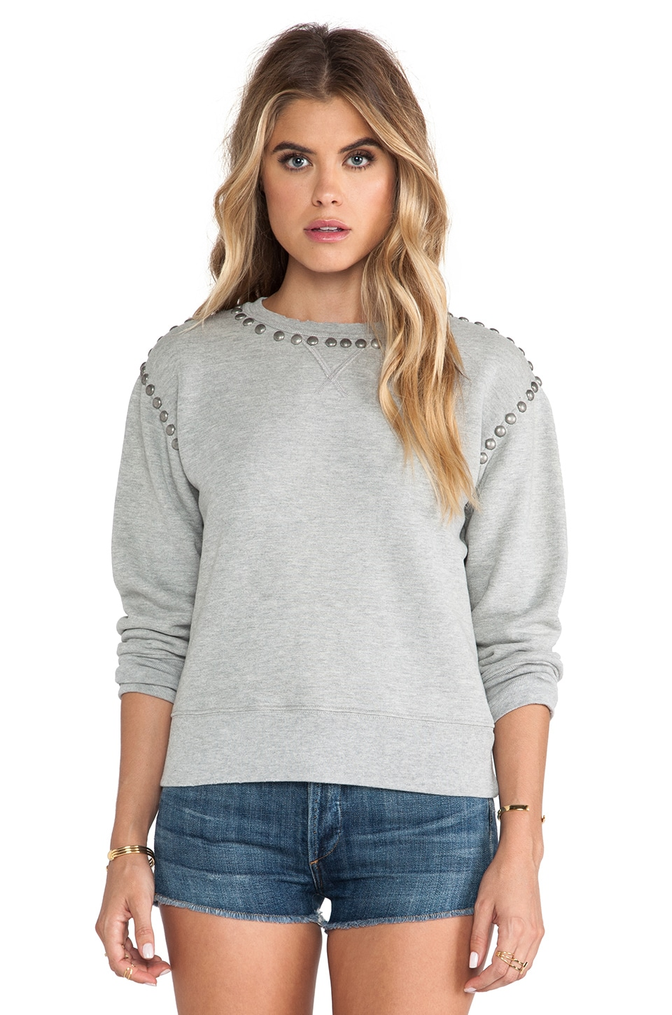Citizens of Humanity Premium Vintage Camryn Sweatshirt in Studded Heather