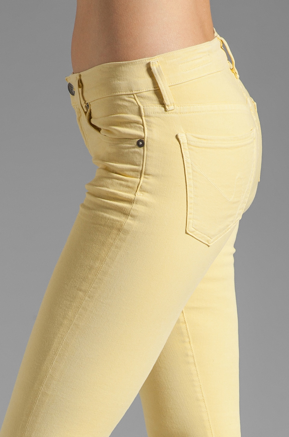 Citizens of Humanity Thompson Twill Ankle Skinny in Chick