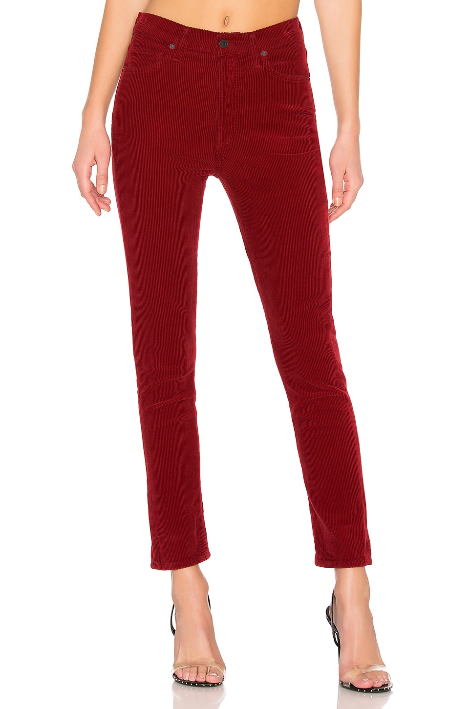Citizens Of Humanity Olivia High Rise Slim Ankle Cord