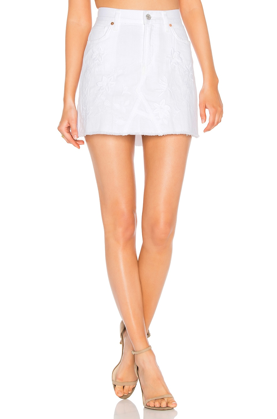 Cut Off Mini Skirt by Citizens of Humanity