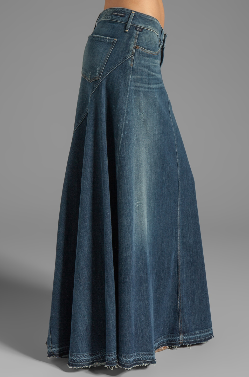 Citizens of Humanity Jeans Anja Maxi Skirt in Dizzy | REVOLVE