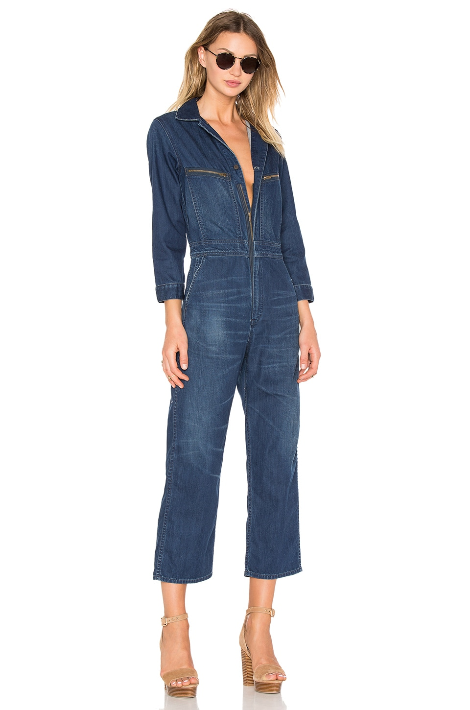 bc8a8a6f Citizens of Humanity Sylvie Worker Jumpsuit in Shoreham | REVOLVE