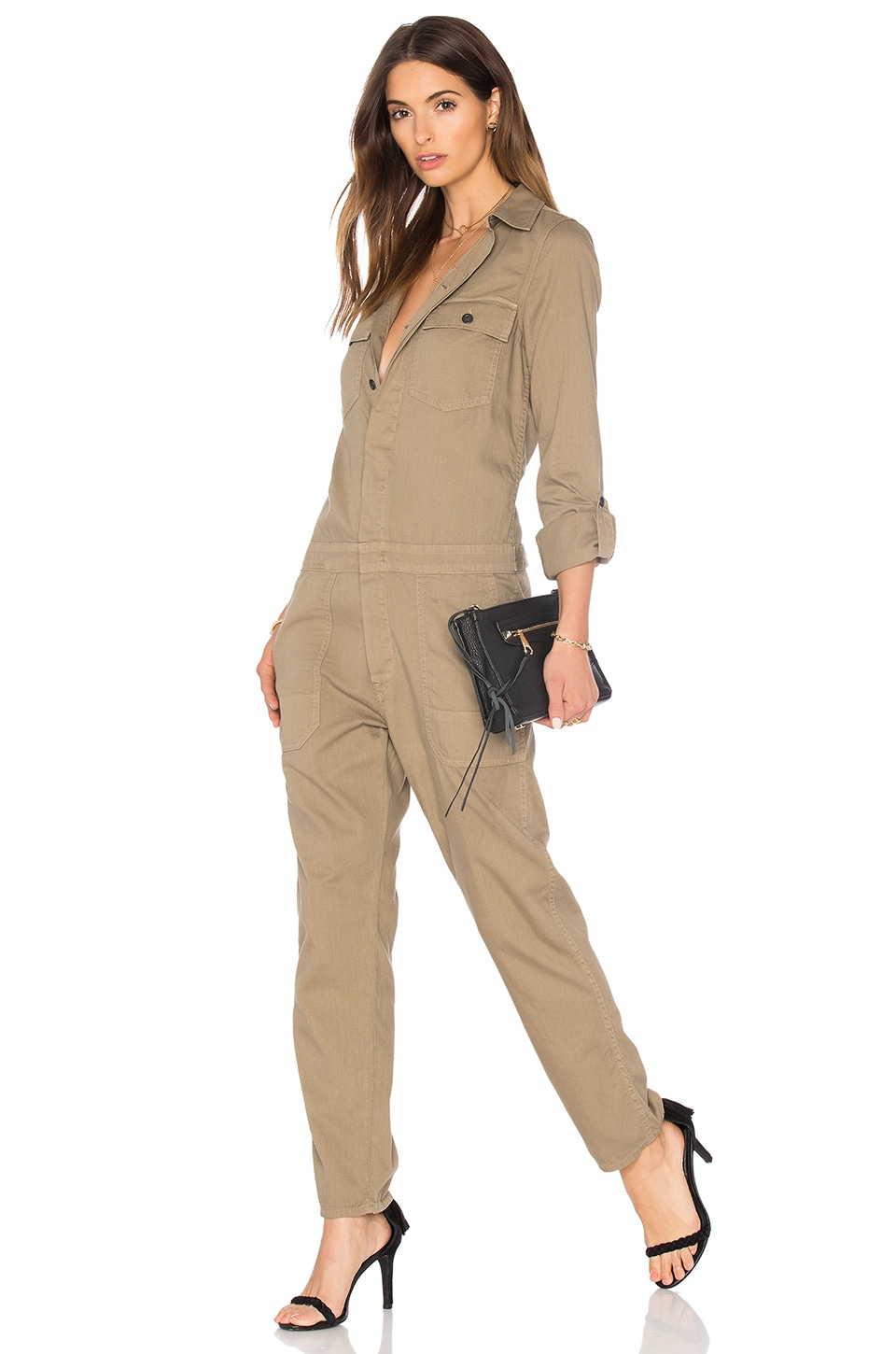 Citizens of Humanity Tallulah Jumpsuit in Beach Dune