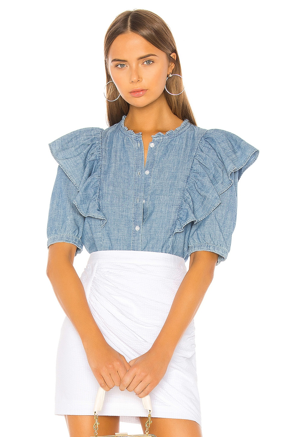 Citizens of Humanity Jolene Blouse in Twine