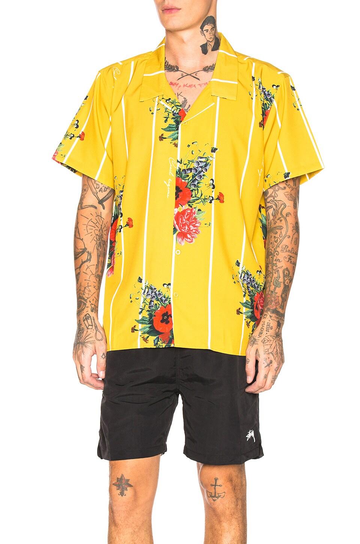 Civil Regime Flores Shirt in Yellow