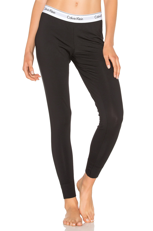 Calvin Klein Underwear Modern Cotton Legging in Black