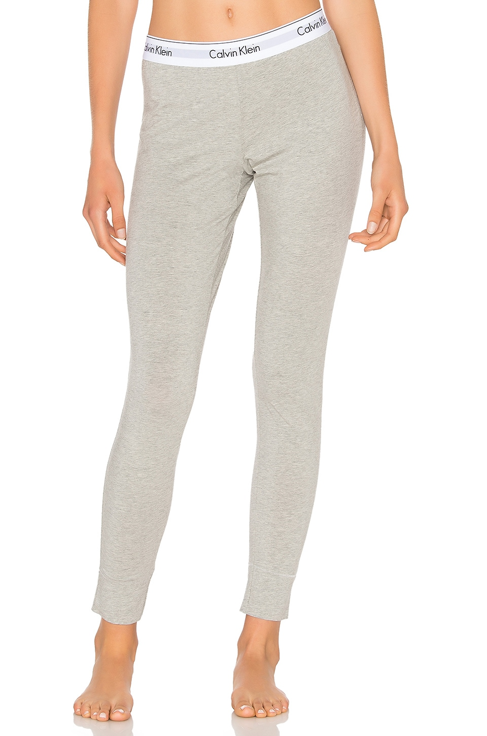 Calvin Klein Underwear Modern Cotton Legging in Grey Heather