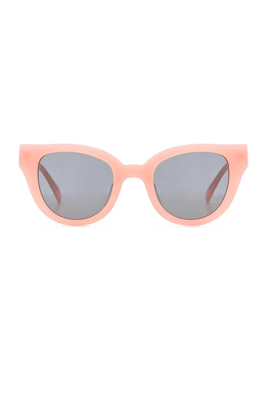 Carla Colour Barton Sunglasses in Flesh with Haze Lenses