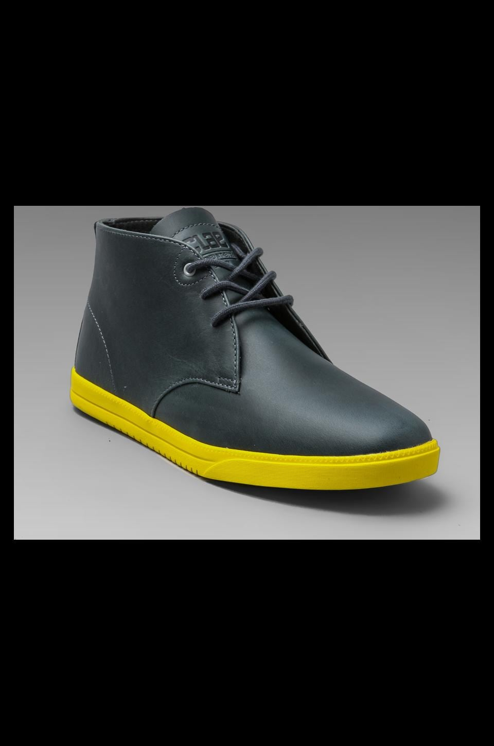 Clae Strayhorn Leather in Pavement