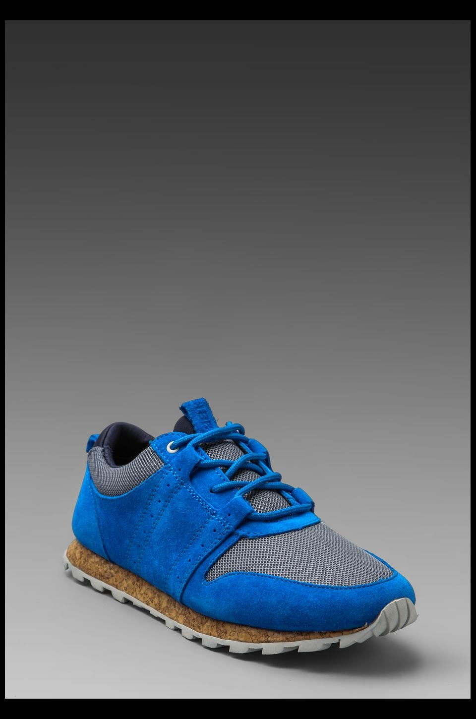 Clae Mills in Royal Suede Charcoal Mesh