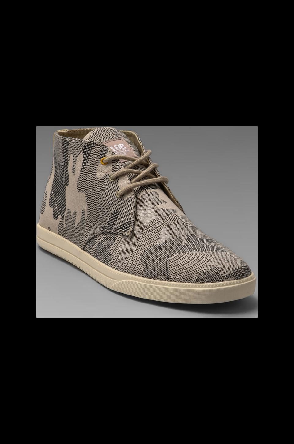 Clae Strayhorn Canvas in Tan Camouflage