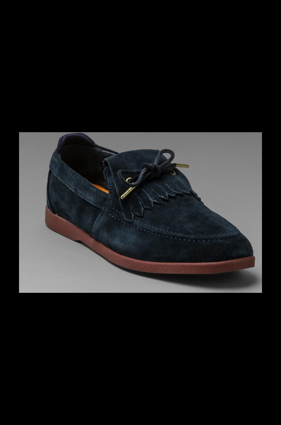 Clae Winston Suede in Deep Navy