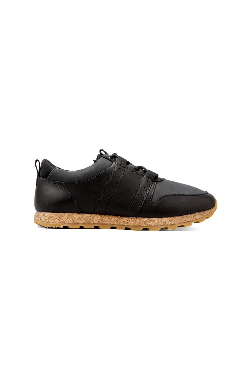 Clae Mills Leather in Black