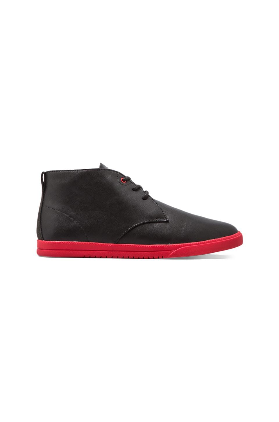 Clae Strayhorn in Black Leather Nubuck