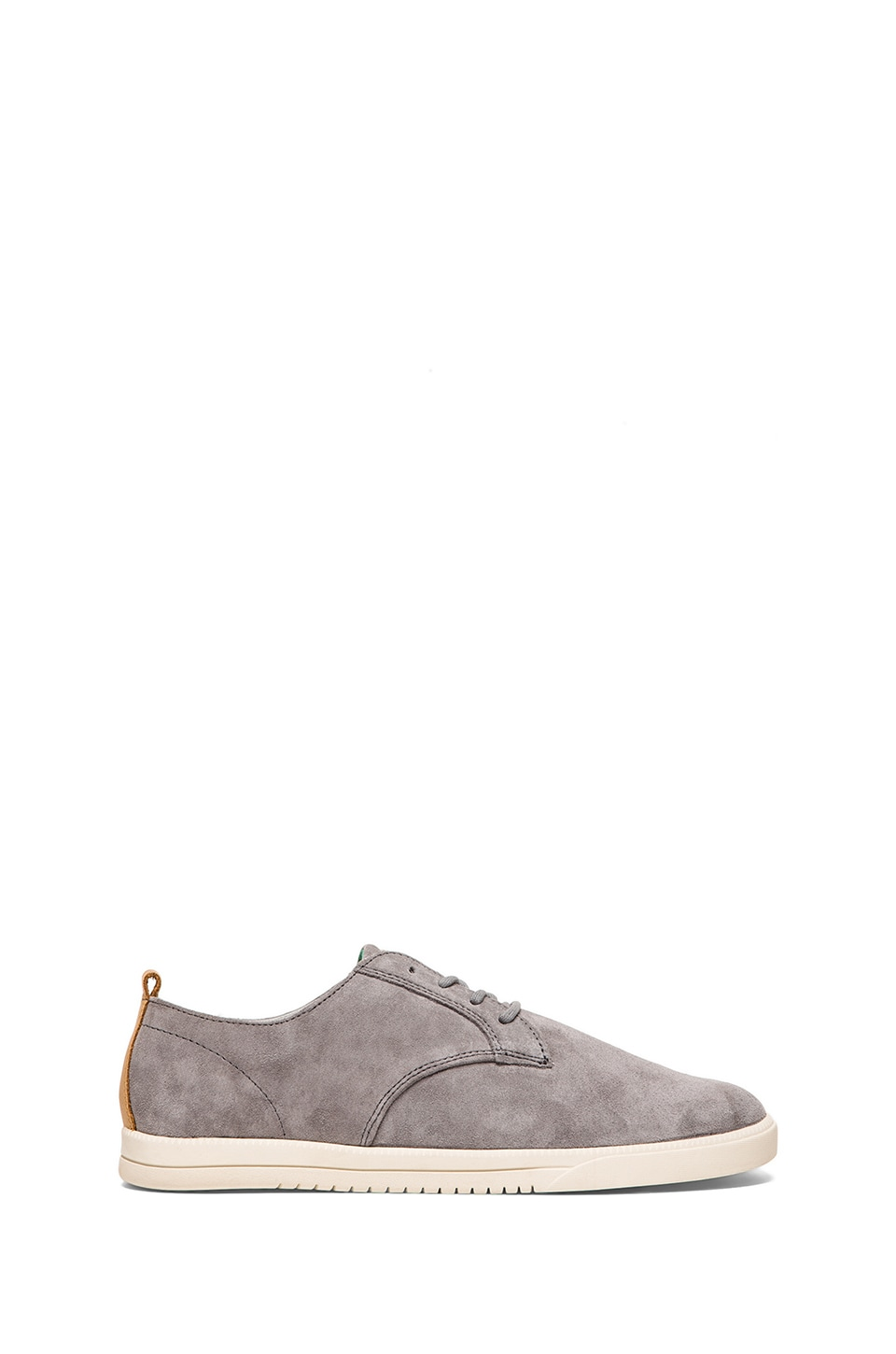 Clae Ellington Suede in Concrete