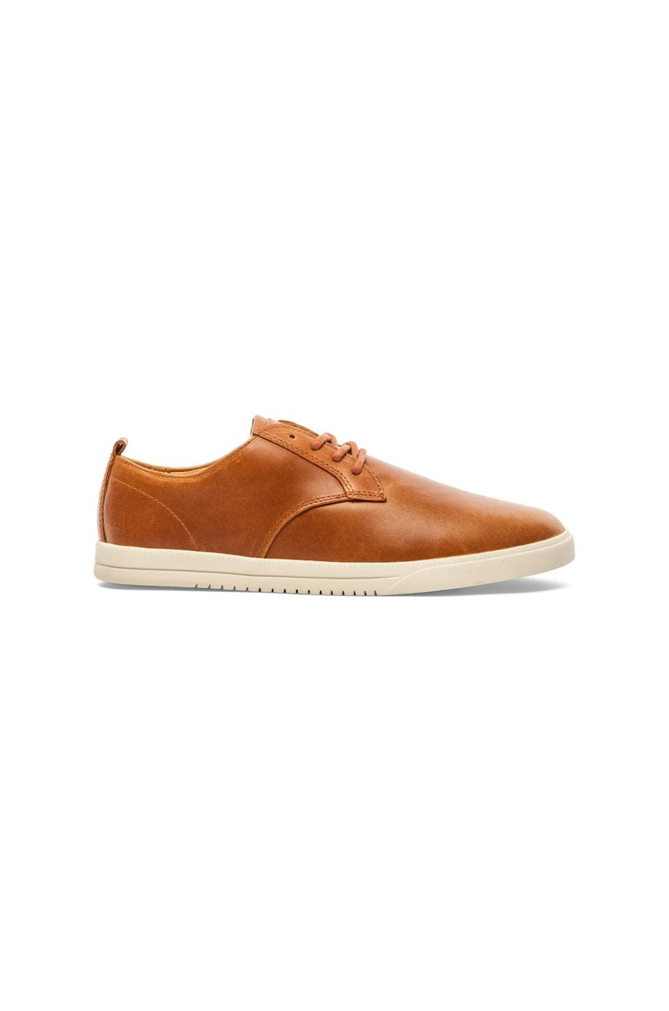 Clae Ellington Leather in Curry