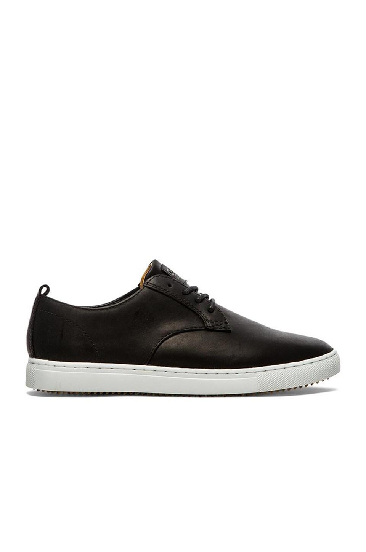 Clae Ellington Sp Leather In Black