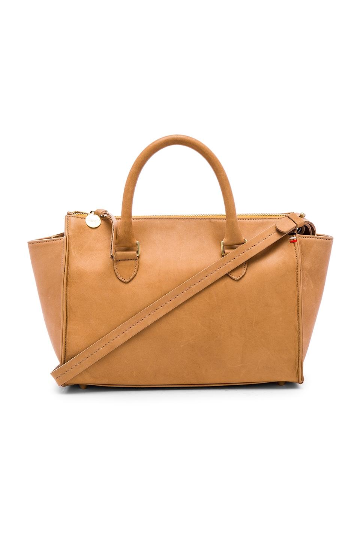 Clare V. Petite Sandrine Bag in Honey