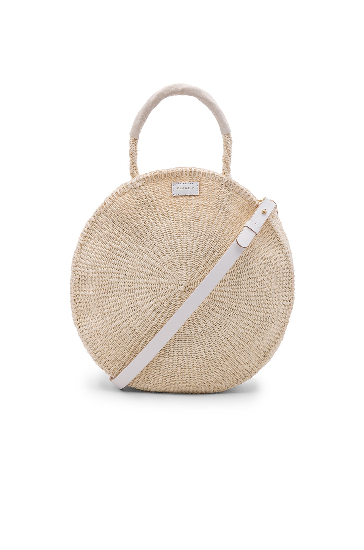 019f2fc2ac Clare V Joriah Bucket Bag In Brown Lyst